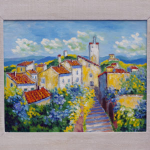 "Curcuron en Provence Olieverf op linnen - 40 x 50 cm Foto door <a href=""http://peetography.nl"" target=""_blank"">Peetography.nl</a>"