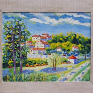 "Murs en Provence Olieverf op linnen - 40 x 50 cm Foto door <a href=""http://peetography.nl"" target=""_blank"">Peetography.nl</a>"