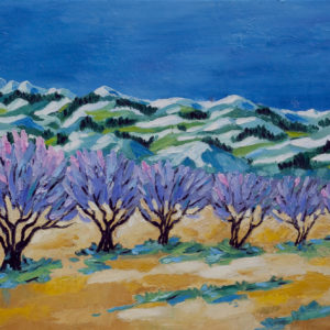"Fruitbomen Provence Olieverf op linnen - 50 x 60 cm Foto door <a href=""http://peetography.nl"" target=""_blank"">Peetography.nl</a>"