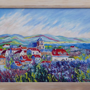 "Zoutelande Olieverf op linnen - 40 x 50 cm Foto door <a href=""http://peetography.nl"" target=""_blank"">Peetography.nl</a>"