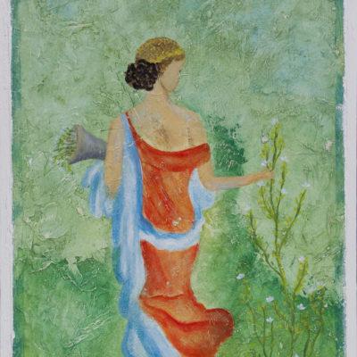 "Prima Vera - Pompeï Fresco - ?? x ?? cm Foto door <a href=""http://peetography.nl"" target=""_blank"">Peetography.nl</a>"