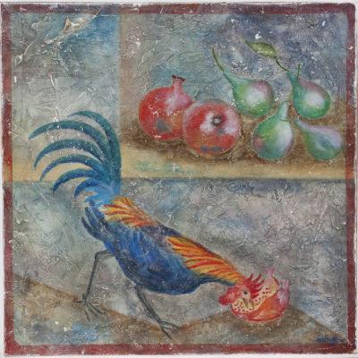 """Kip Pompeï Fresco - ?? x ?? cm Foto door <a href=""""http://peetography.nl"""" target=""""_blank"""">Peetography.nl</a>"""