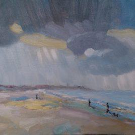 Strand Walcheren, effecten weersomslag