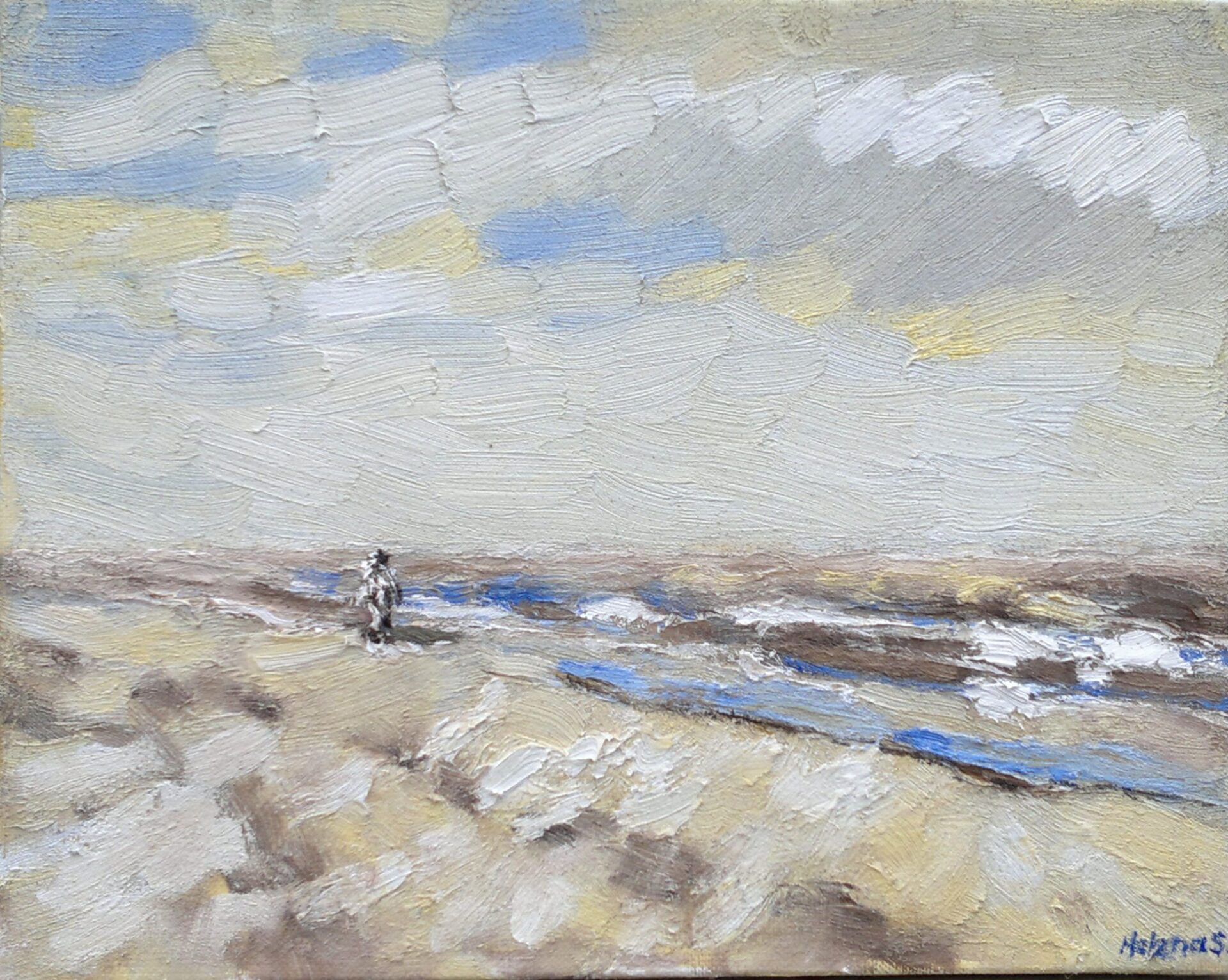 Strand en zeegezicht Katwijk lente 2013 1