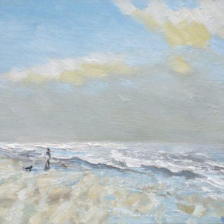 Strand en zeegezicht Katwijk lente 2013 2