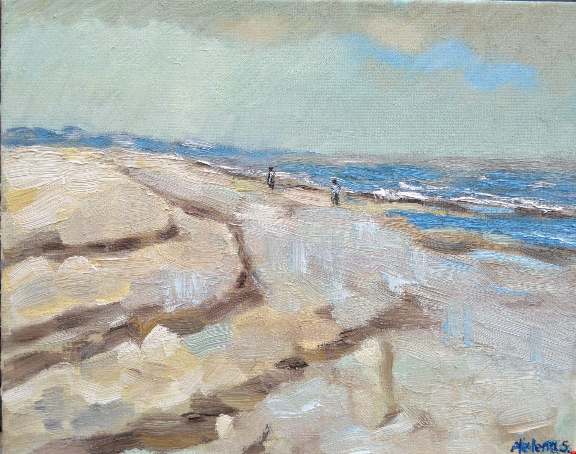 Strand en zeegezicht Katwijk lente 2013 6