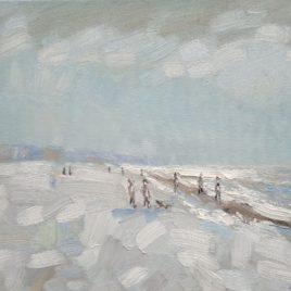 Strand en zeegezicht Katwijk lente 2013 7