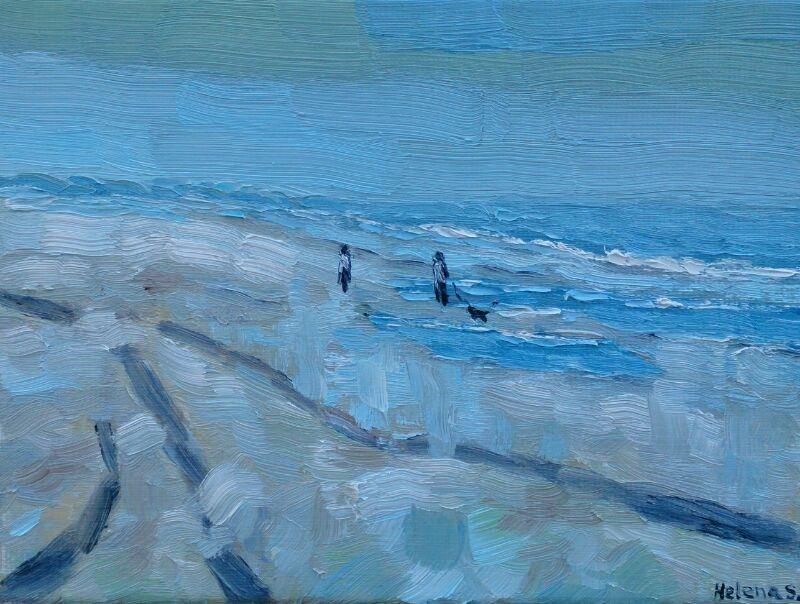Strandwandeling Walcheren