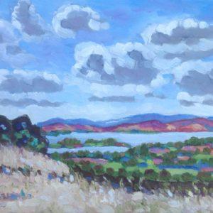 Monts d'Arrée 1 Olieverf op linnen - 30 x 40 cm