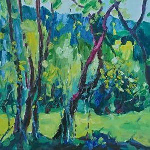 Forêt Mortain Normandie Olieverf op linnen - 40 x 50 cm