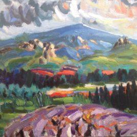 Dentelles et Mont Ventoux