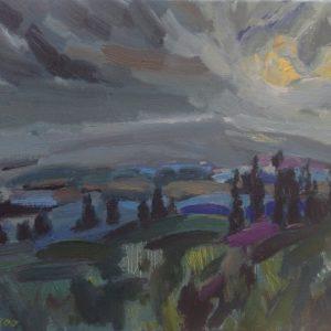 Mont Ventoux-Pays du Comtat         Olieverf op linnen - 30 x 40 cm