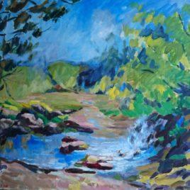 Vallée des peintres Carolles Normandie