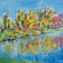 Bolwerk Middelburg herfst