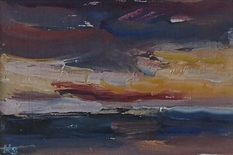 Westkapelle zonsondergang